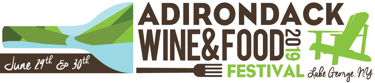 2019 Adk Wine Fest Horizontal Logo w/ Dates