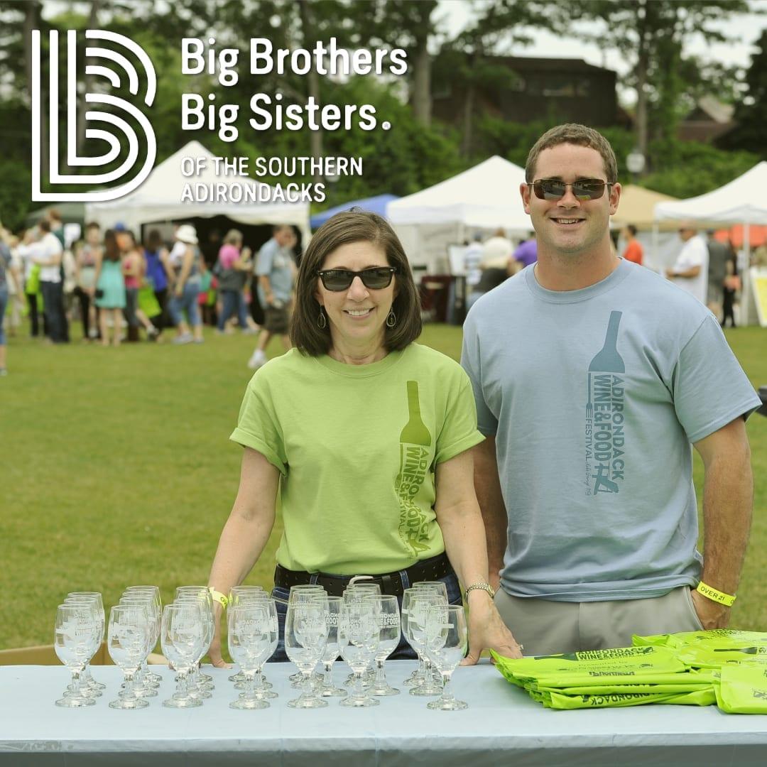 Happy Big Brothers Big Sisters Volunteers Lending a Helping Hand!