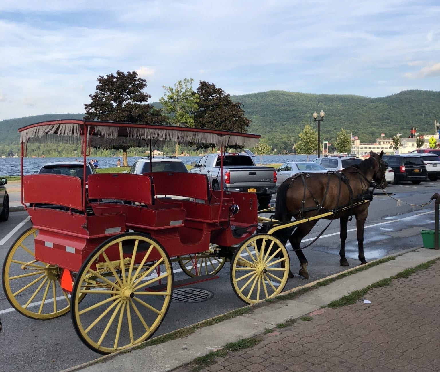 Take a Carriage Ride with your sweetheart Lakeside!