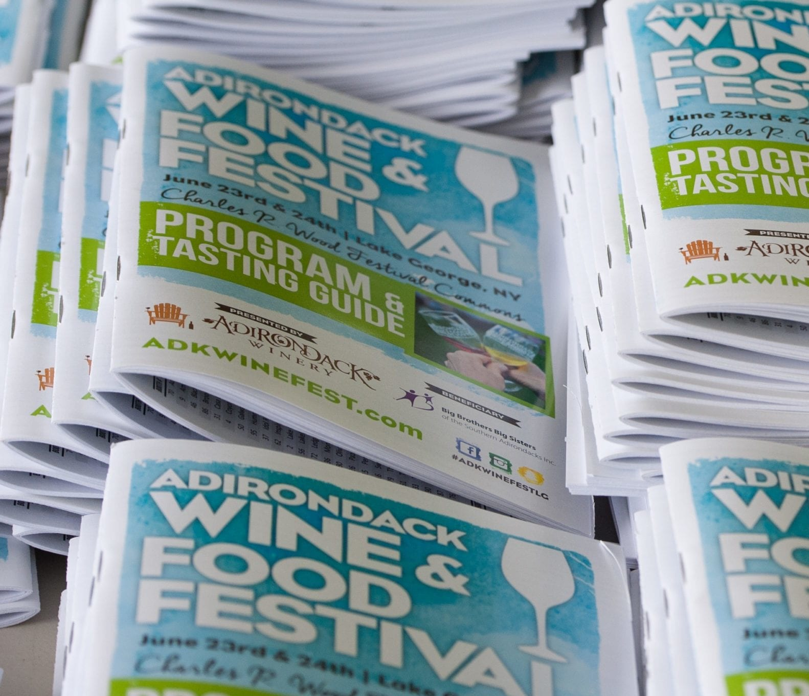 The Festival Program that is included in the DD/Underage ticket provided by M&M Digital Printing