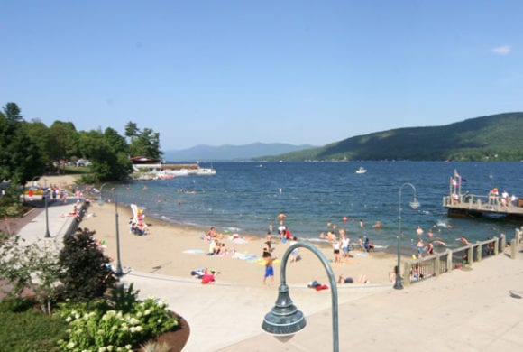 Catch up on that summer tan on one of many great spots around Lake George!