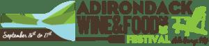 2020 Adk Wine Fest Horizontal Logo w/ Dates